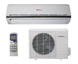 General premium мощность кондиционера - 9000BTU площадь охлаждения кондиционера - от 25 м.кв.